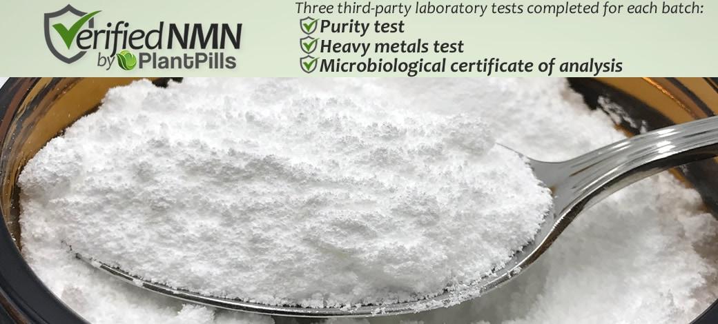 PlantPills Nicotinamide Mononucleotide (NMN) Powder