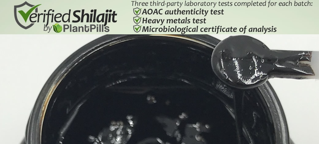 Shilajit Paste Verified