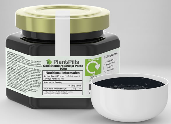 PlantPills Shilajit Jar and Paste