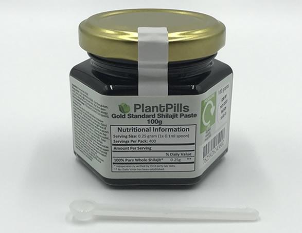 Packaging for PlantPills Shilajit Paste