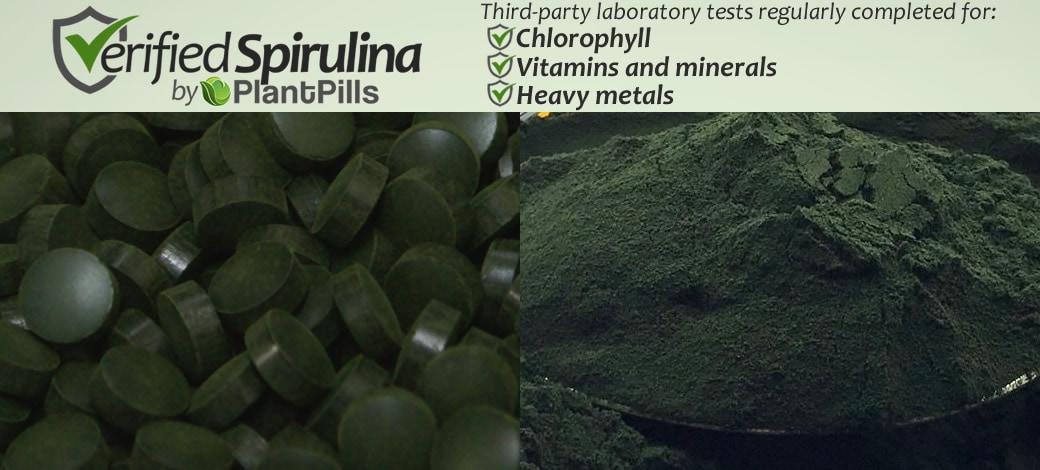 Spirulina Tablets Verified