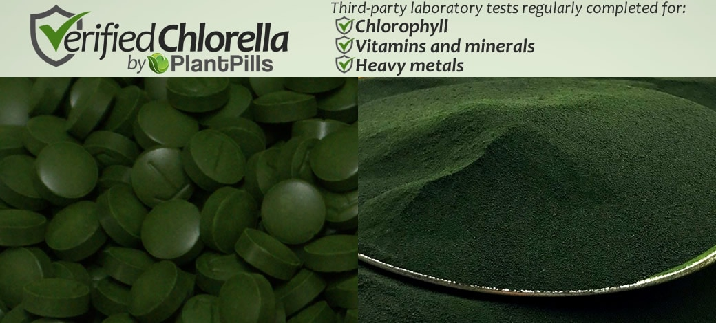 Chlorella Tablets Verified